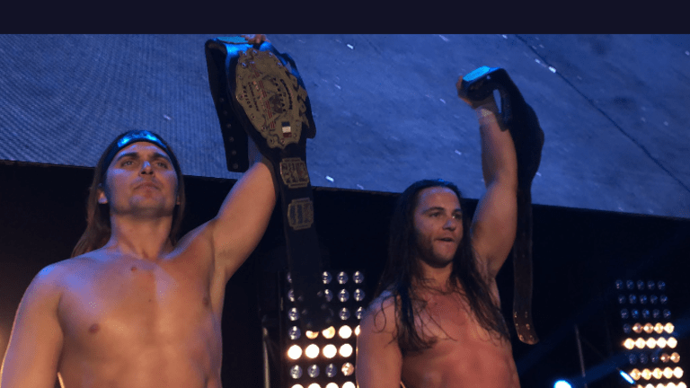 The Young Bucks Capture AAA Tag Team Championships