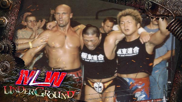MLW Underground   Ep. 6   Christopher Daniels, Dick Togo & Ikuto Hidaka vs. Los Maximos & Quiet Storm