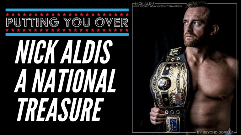 Nick Aldis on Cody/Adis 3, joining Twitch & the booking of a legend.