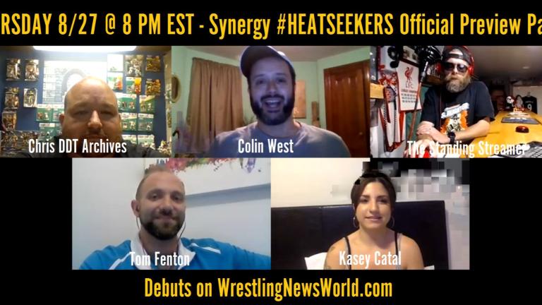 Synergy Pro Wrestling #HEATSEEKERSPreview Panel w/ Kasey Catal