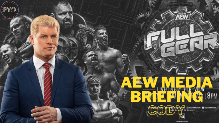 AEW Media Briefing with Cody | Full Gear | Putting You Over