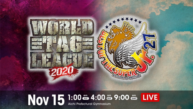 World Tag Team League and Best of the Super Jr. 27 Night One Card Announced