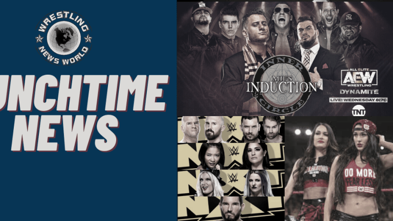 Afternoon News | Bellas; One More Run? | NXT/AEW Preview | MJF's Induction | 11.11.20