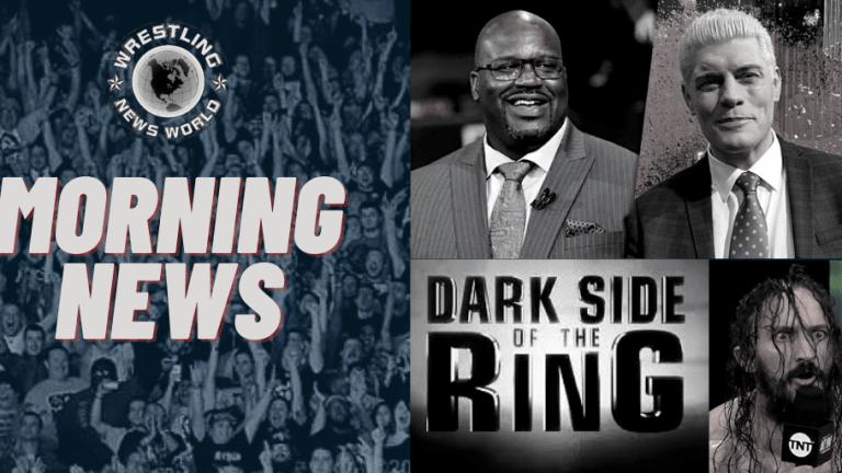 Morning News 11.12.20 | Leon Ruff Champ | Shaq in AEW | Dark Side News