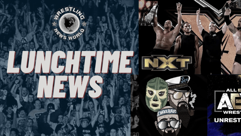 Lunchtime News 11.12.20 | Cody Rhodes on AEW Unrestricted Audio | McAfee on Busted Open | Gallows & Anderson on CVV |