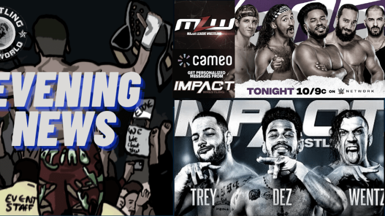 Evening News 11.13.20 | MLW On Pluto TV | Impact Wrestling Update & Stars On Cameo | 205 Live |