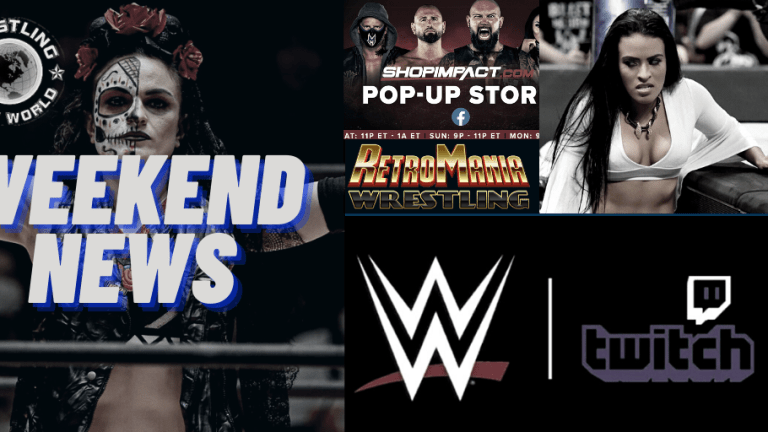 Weekend News 11.15.20 | More On Zelina | RetroMania Release Date | IMPACT Pop-up Shop | WWE Twitch Expansion | Thunder Rosa & More |