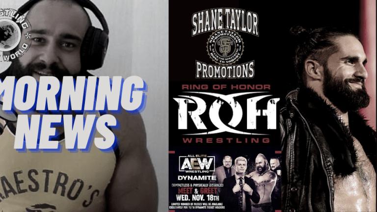 Morning News 11.16.20   ROH TV   Miro On Zelina   Seth Rollins Time Off   AEW Meet & Greet