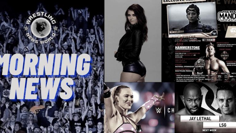 Morning News 11.17.20 | LSG on ROH | Sasha Banks Star Wars Card | Lana | NXT's Skyler Storey | Hammerstone