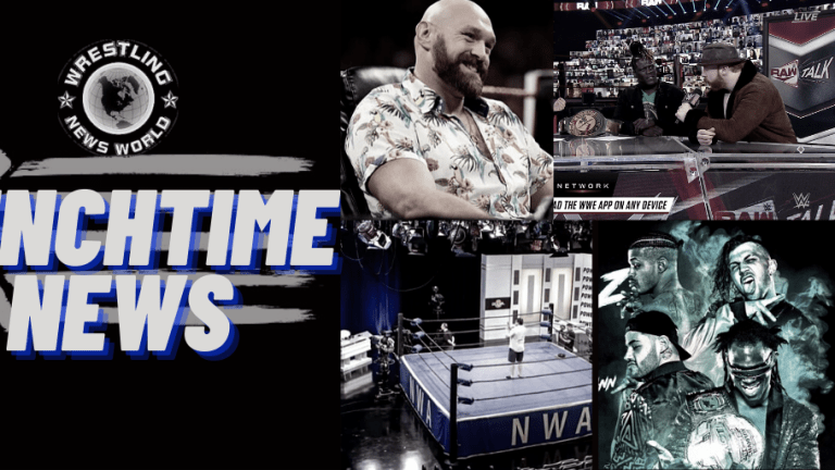Lunchtime News 11.17.20 | Rascals Final Match | Tyson Fury on Taker | J.R. on the NWA | WWE Twitter Hacked