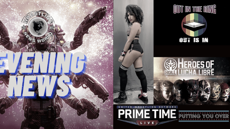 Evening News 11.17.20 | Marti Belle | Lucha Libre Series | Out in the Ring Doc. | New Day in Gears of War 5 | PRIMETIME Live