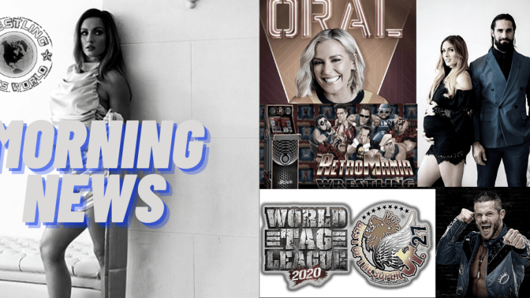 Morning News 11.18.20 | Lynch Breaks the Internet | Renee Paquette's Oral Sessions | NJPW  | RetroMania Wrestling | Matt Sydal