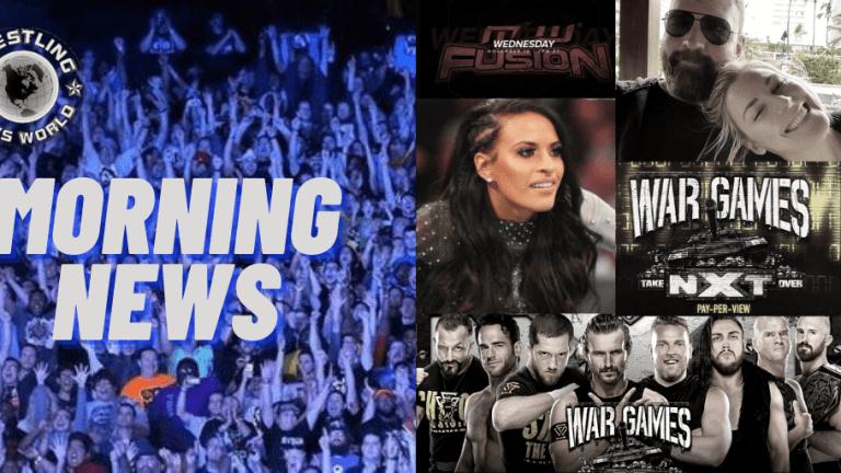 Morning News 11.19.20 | Renee & Jon Expecting | War Games | Thea Trinidad & SAG | Wrestling Weds.