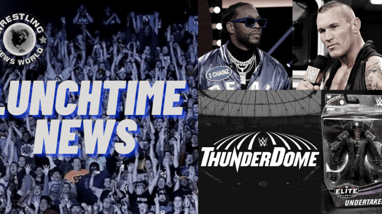Lunchtime News 11.19.20 | Thunderdome Moving | New Taker Figure | RKO & 2 Chainz |