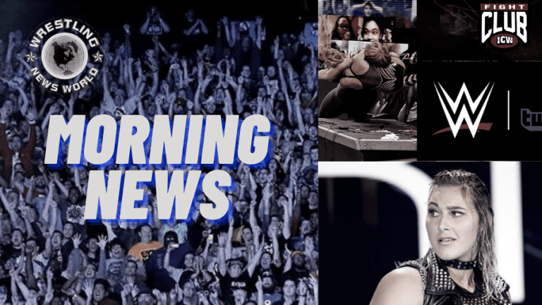 Morning News 11.24.30 | NXT & Twitch | Bully on Rhea | Fight Club on WWE Network | The Streak is Over