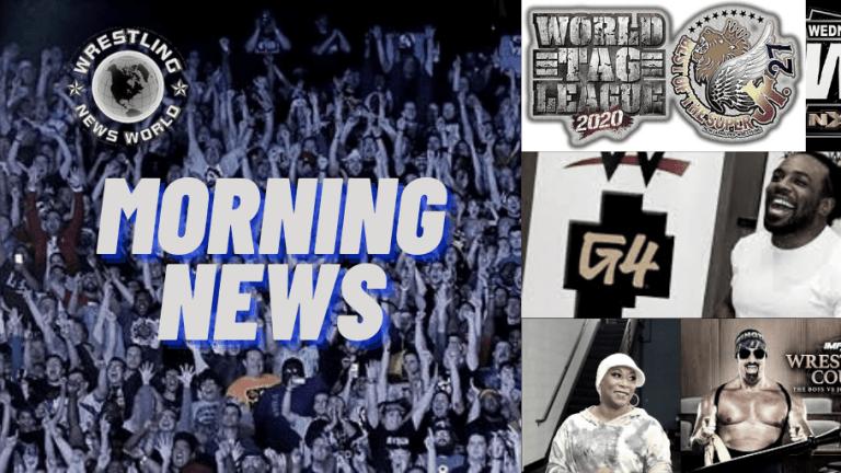 Morning News 11.25.20 | Jazz Out of Retirement | Xavier Woods | Johnny Swinger Not Guilty | NJPW Super J & World Tag Standings