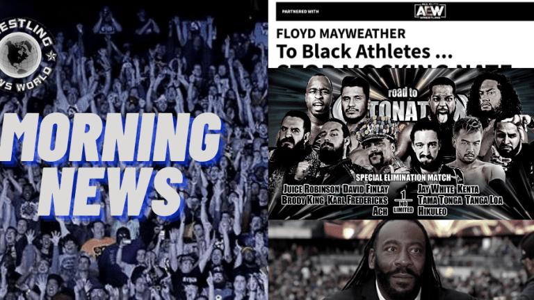 Morning News 12.1.20 | AEW & TMZ | Booker T Rap Tribute | NJPW Road to Detonation |