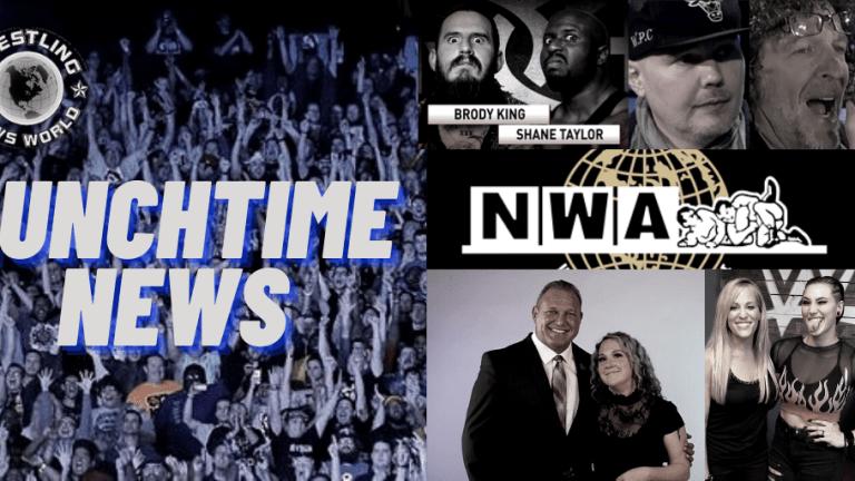 Lunchtime News 12.1.20 | Corgan on Stern | Rhea Ripley on Chasing the Glory | NWA News