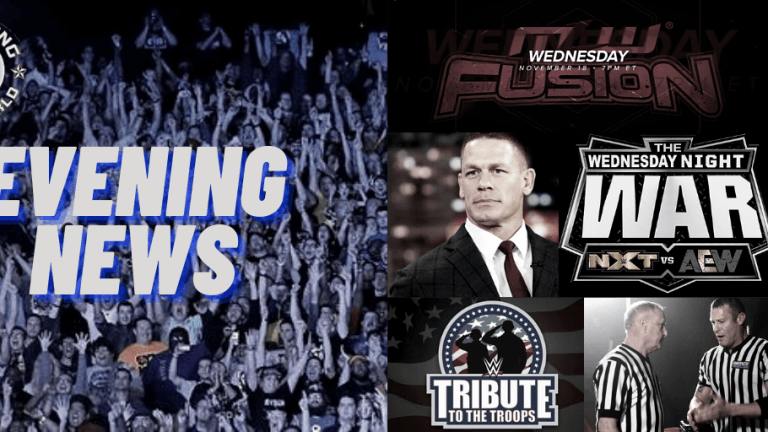 Evening News 12.2.20 | Cena The Author | Tribute To The Troops | Hebner | Wednesday Night Wrestling Previews