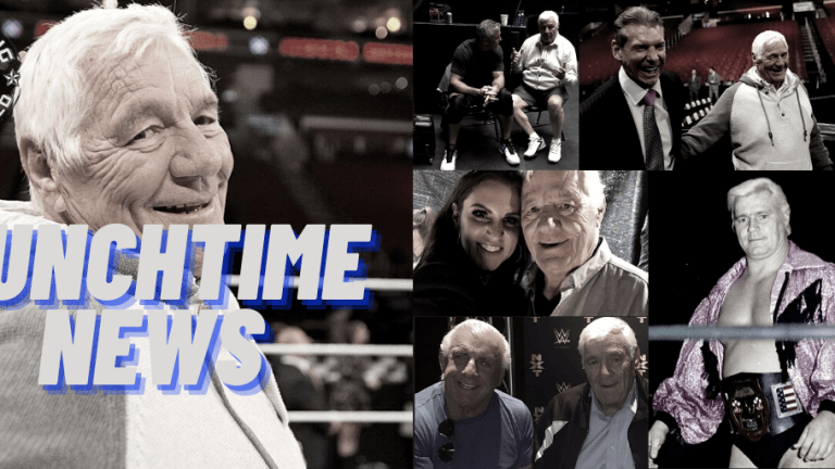 Lunchtime News 12.2.20 | RIP Pat Patterson | The Wrestling World Shares Memories of Pat