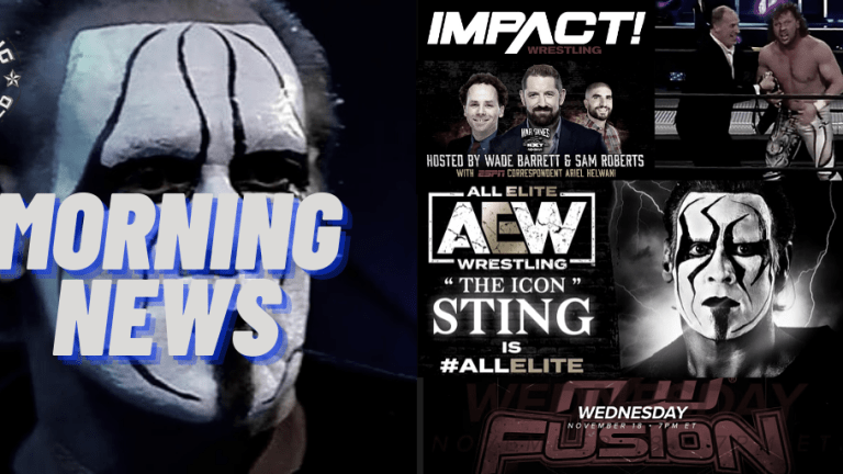 Morning News 12.3.20 | STING | AEW & IMPACT | NXT & ESPN & More