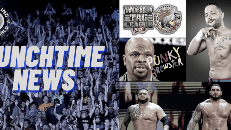 Lunchtime News 12.7.20 | AOP Are Free | Trey Miguel | D-Von & Punky Brewster | NJPW Final Card For Super J & World Tag League