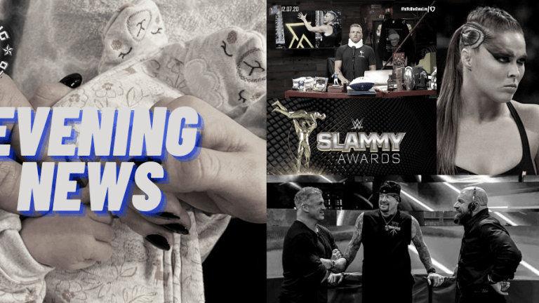"Evening News 12.7.20 | Slammy Awards | Becky & Seth Are Now A Stable | McAfee Hurt | Taker At The PC | Rousey Training | BTE ""Skits"" Match"