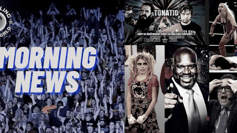 Morning News 12.8.20 | Shaq | Mauro Ranallo Opens Up | Lana Has Big Dreams | NJPW Strong | Bliss's Absence From RAW
