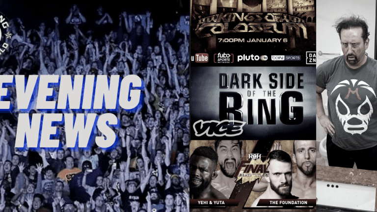 Evening News 12.8.20 | Dreamer Talks IMPACT/AEW | MLW Free Marque Event | Dark Side Evolving | ROH Final Battle