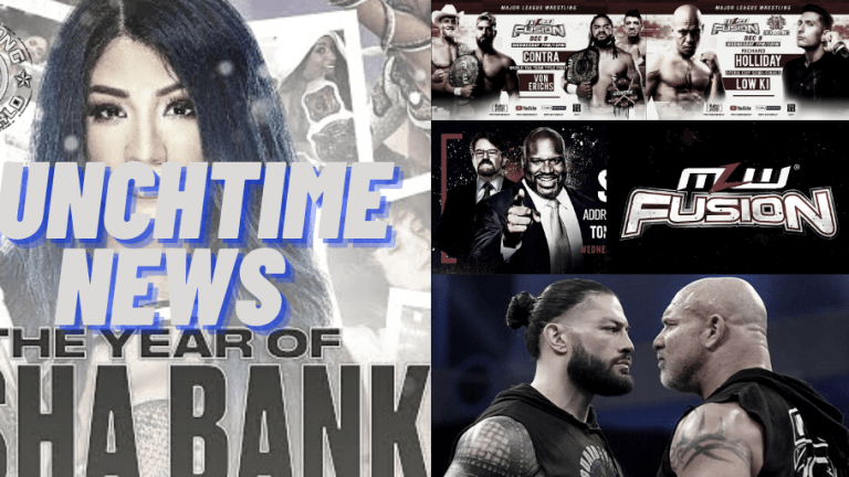 Lunchtime News 12.9.10 | Goldberg Wants Roman | MLW, AEW Previews | The Year of Sasha