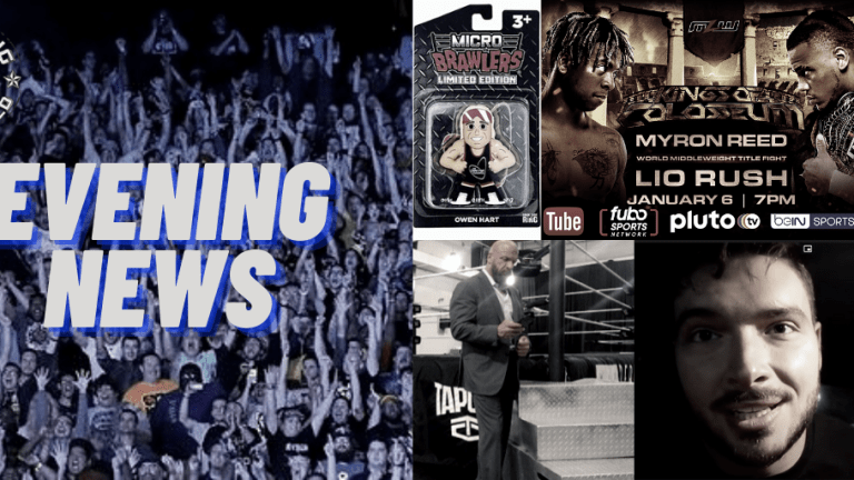 Evening News 12.10.20   Charisma is King   MOTH v. Young Goat   Ethan Page Future Endeavor   Owen Hart Action Figure