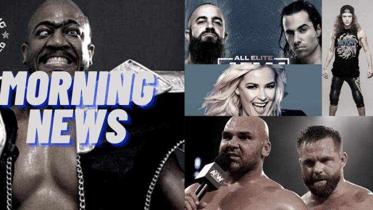 Morning News 12.11.20   RIP Zeus   Renee Paquette on Bellas Podcast   Silver & Reynolds on AEW Unrestricted   FTR & Marko Stunt