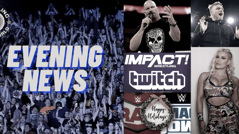 Evening News 12.15.20 | Taya Valkyrie Files Copyright | Austin on McAfee | WWE During the Holidays | IMPACT Preview