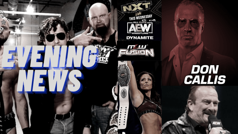 Evening News 12.16.20 | Callis on Power | Invasion Angle on AEW Tonight? | Tama Tonga Coming For Omega? | Talent missing AEW Tonight | News on NWA Tapings