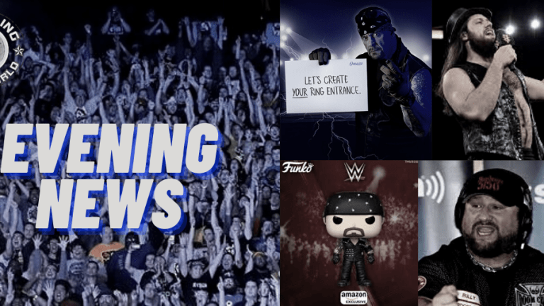 Evening News 12.17.20 | Get in The Ring w/The Undertaker | Bully on Ratings | American Badass Funko | Super X Cup | Grimes Surgery
