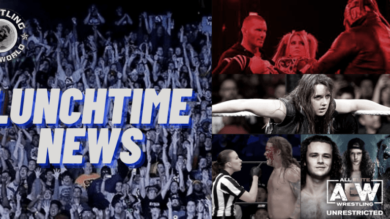 Lunchtime News 12.17.20 | Jurassic Express on AEW Unrestricted | Aubrey Edwards Auction | Nikki Cross at TLC? | Firefly Inferno Match