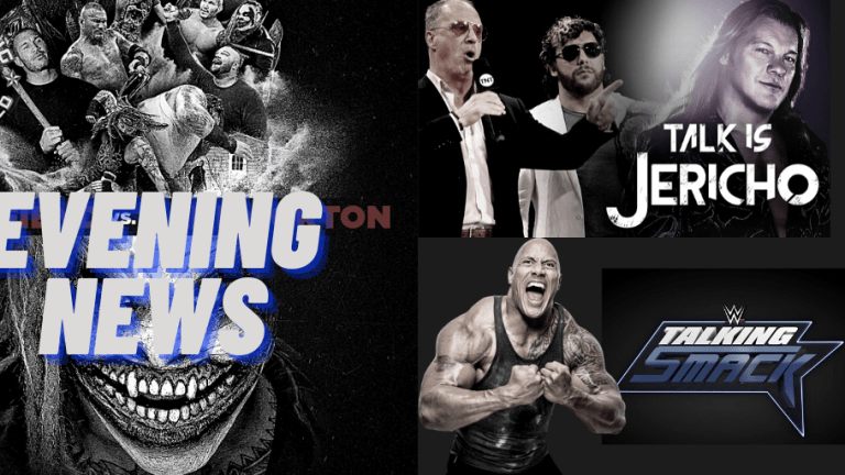 Evening News 12.18.20   RAW Darker Content   Omega on Talk is Jericho   The Rock on Talking Smack   Firefly Inferno Poster