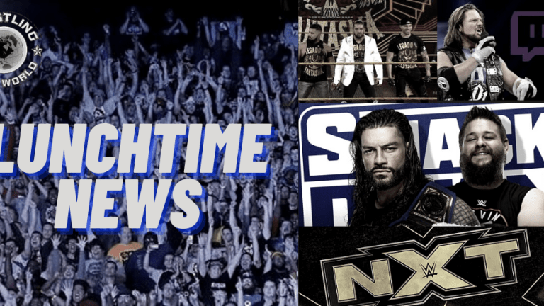 Lunchtime News 12.21.20   Styles Spoke to Vince on Twitch   Roman/Owens in a Cage   WWE Lucha Libre Series & More
