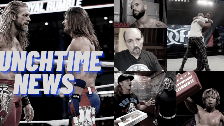 Lunchtime News 12.22.20 | Ricochet Frustrated | Korderas Not High on Riddle & Hardy | Bennett on WWE Creative Run | Who Styles wants at WrestleMania 37 & KENTA v. Juice