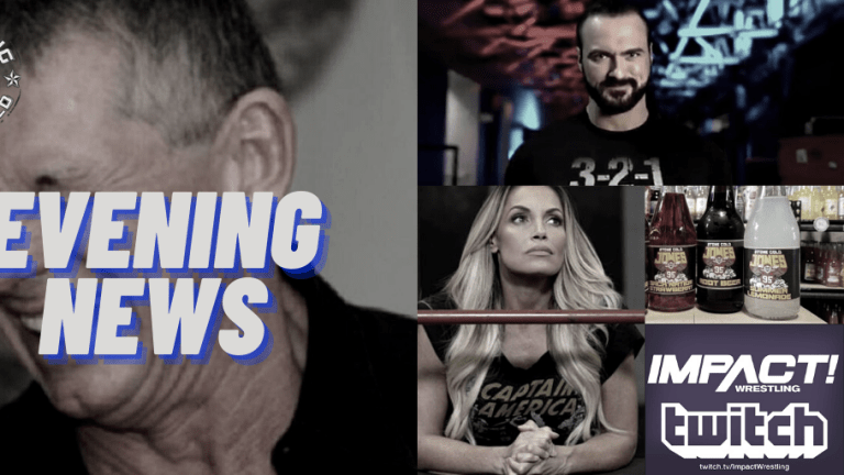 Evening News 12.22.20 | Drew Pranked Vince | WWE Stone Cold Trademark | Stratusfaction in NXT | IMPACT Wrestling on XUMO & More