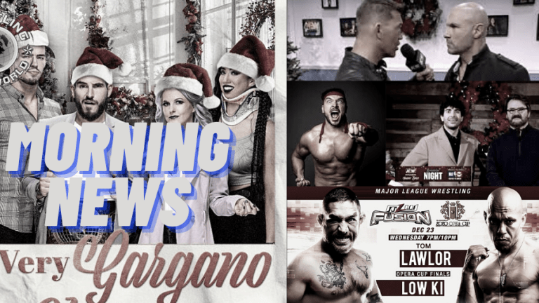 Morning News 12.23.20 | Karate Man to AEW? | NXT Title Match | SCU Breaking Up | MLW Preview