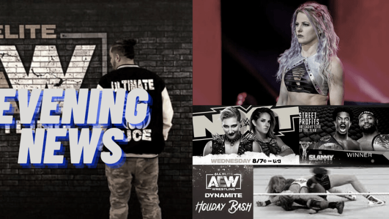 Evening News 12.23.20 | Rousey Broken Vertebrae | Slammy Stolen | LeRae Injury Update | AEW Signing a Fatu? | AEW, NXT Preview