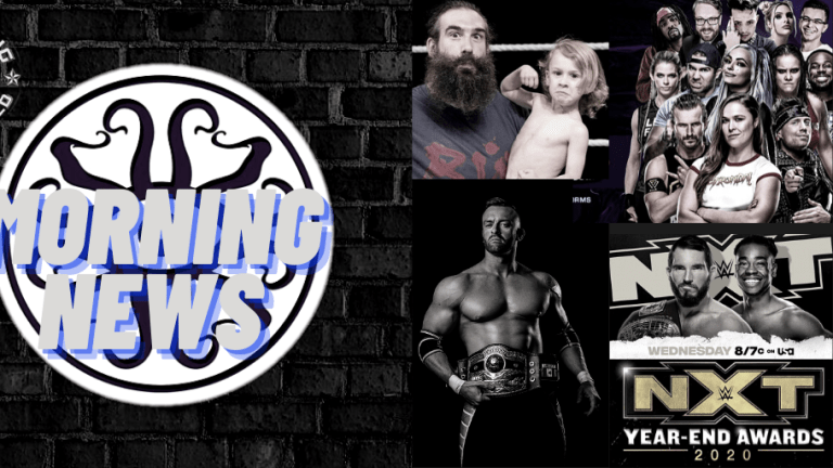 Morning News 12.30.20 | Aldis Contract | AEW & NXT Previews | WWE Gaming Series & more