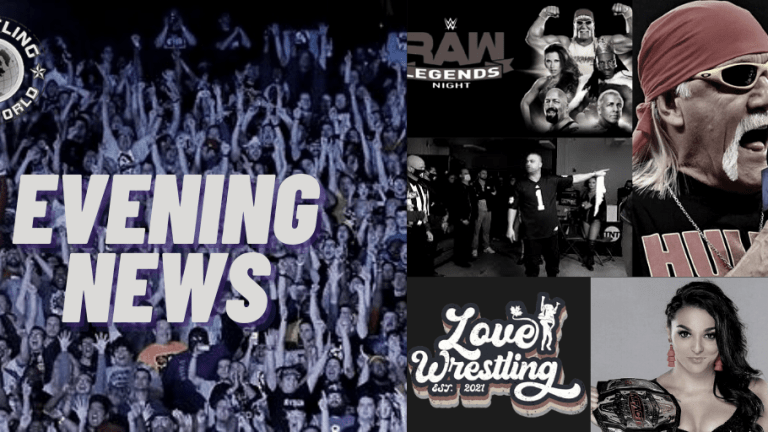 Evening News 1.4.21 | Hogan on Talent | Purrazzo on Knockouts Name | BTE Brodie Tribute | Kingston Emotional Speech | RAW Preview