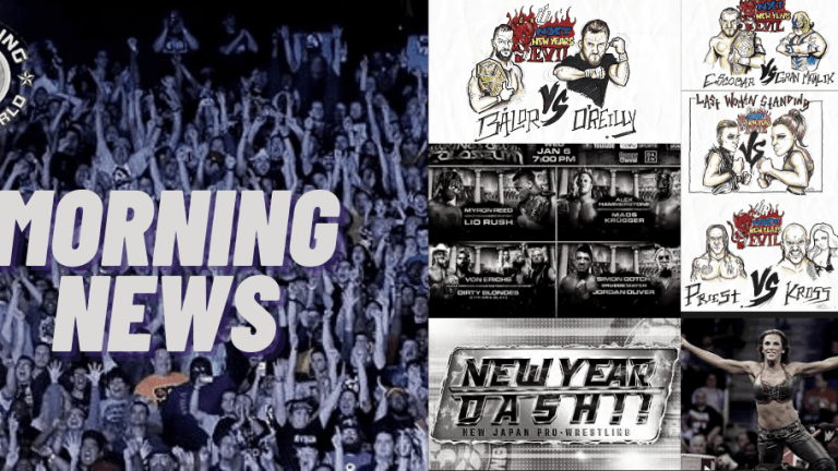 Morning News 1.6.21 | New Year's Evil Preview | Kings of Colosseum | New Year Dash Recap | Mickie James