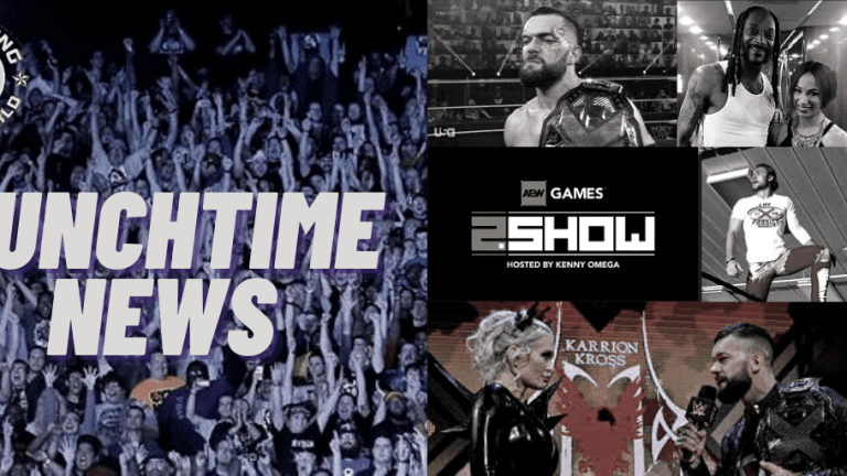 Lunchtime News 1.7.21 | Tonga on Bullet Club | Balor on Kross | Balor & O'Reilly Injured? | Sasha on Snoop | Ben Carter on Video Games | AEW Games Update