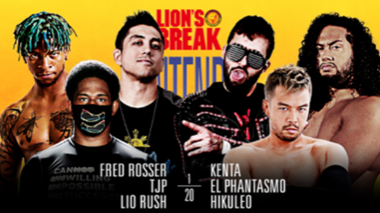 Lio Rush makes New Japan Strong Debut and Lion's Break Contender Series Culminates