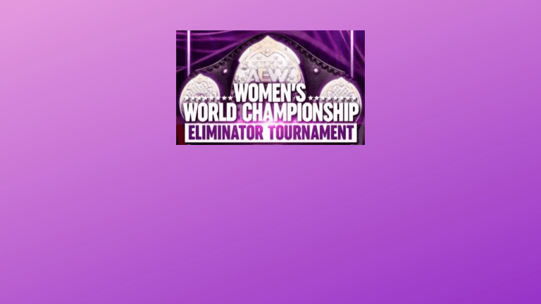 Thoughts on the AEW Women's Eliminator Tournament
