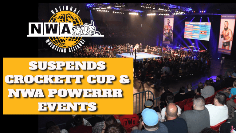 NWA Suspends Crockett Cup & Powerrr tapings