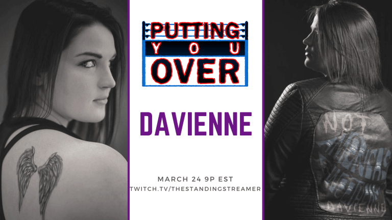 Putting You Over-Davienne, Independent Wrestler